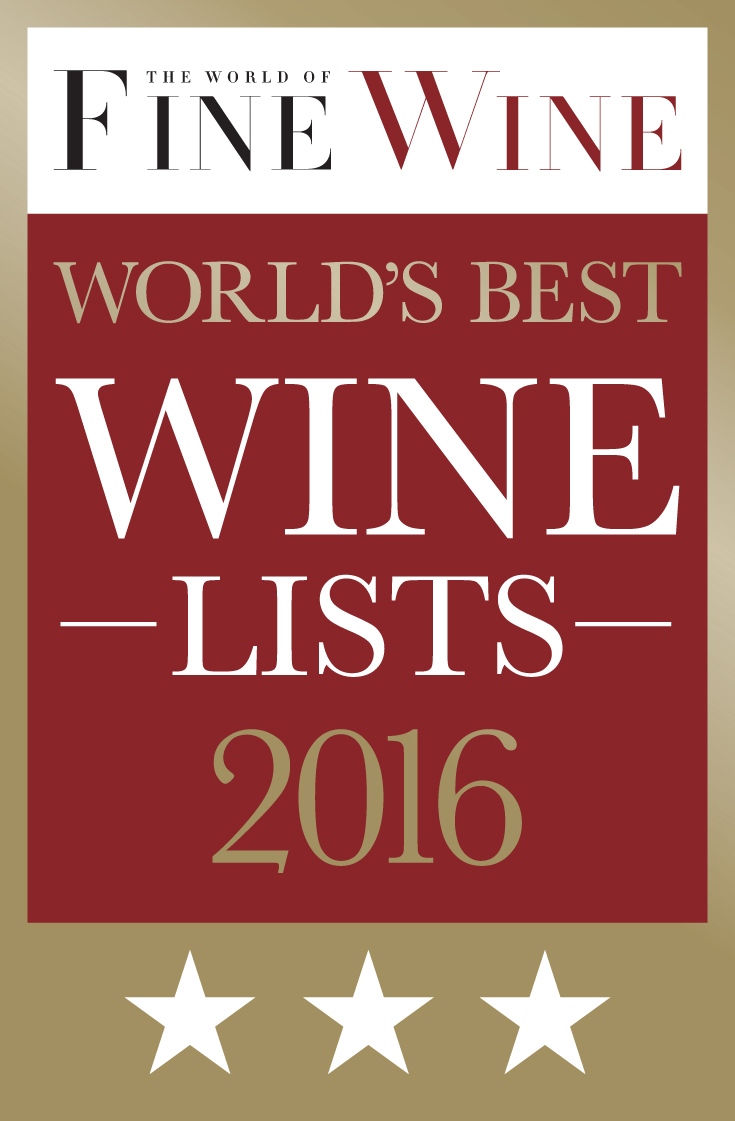World of Fine Wine Wine List Awards